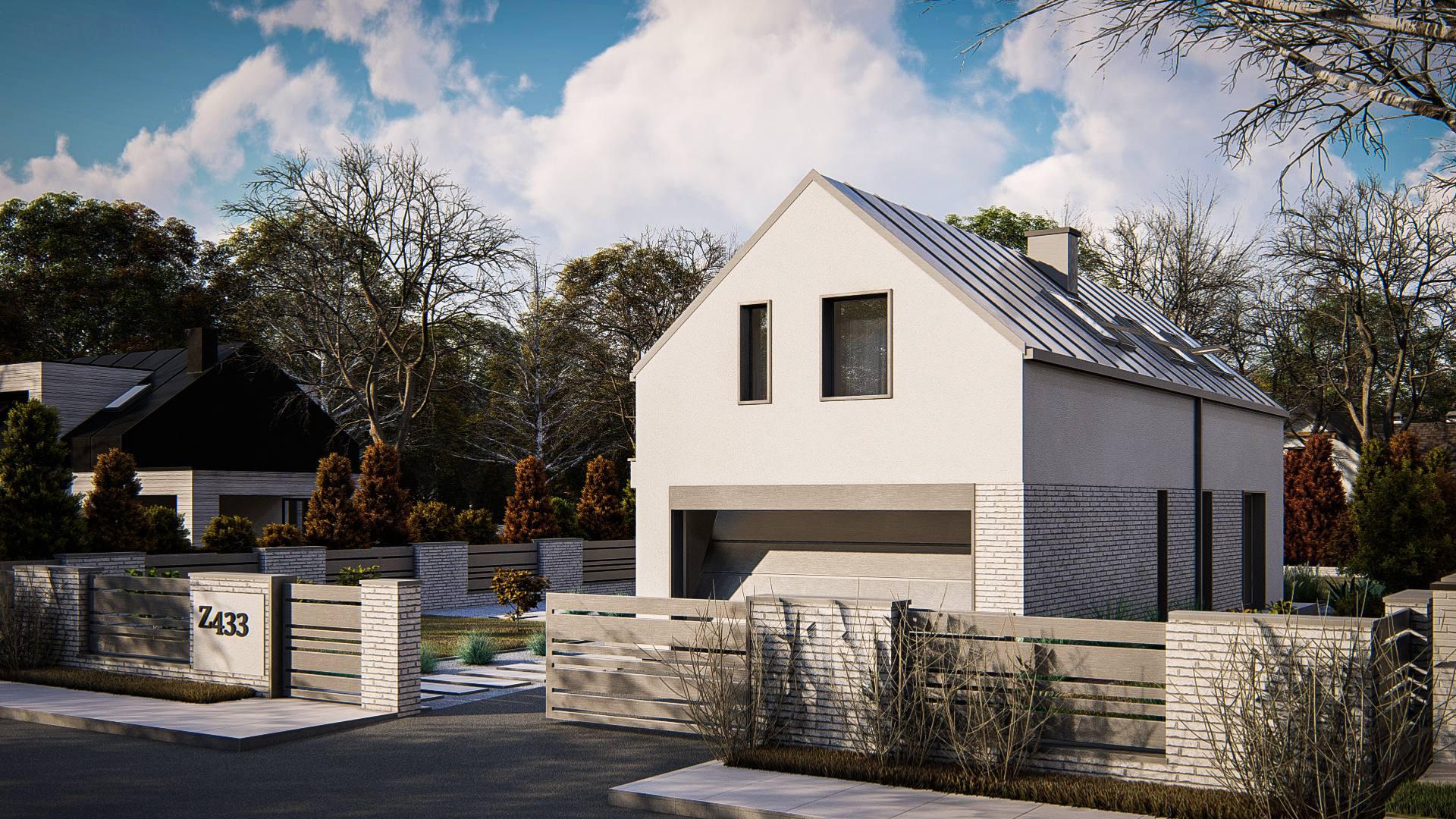 Проект будинку Z433 - 1
