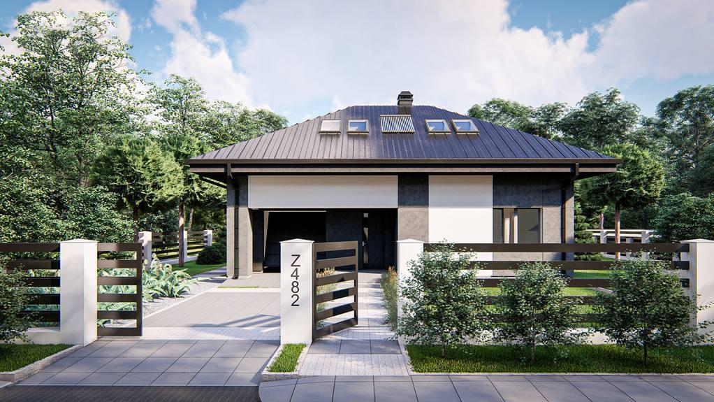 Проект будинку Z482 - 1