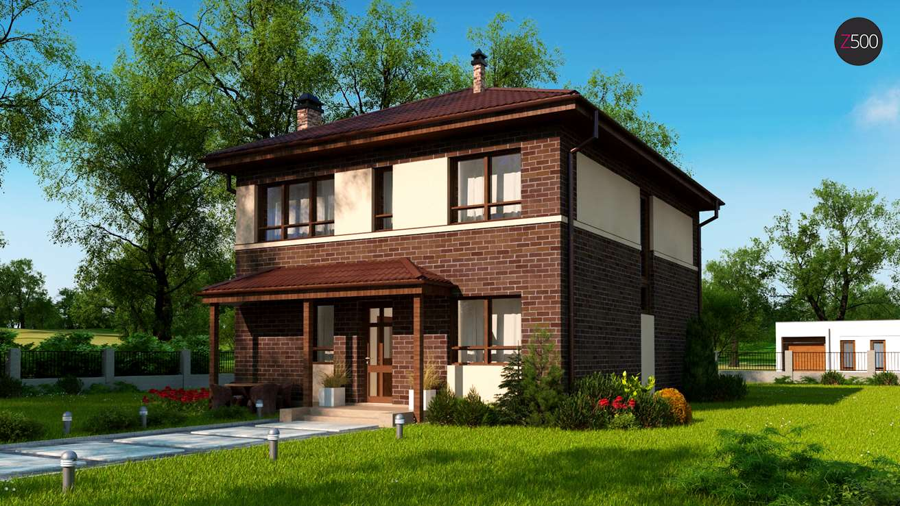 Проект будинку Zx24 a pk - 1