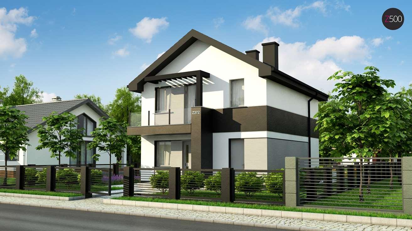 Проект будинку Z372 pk - 1