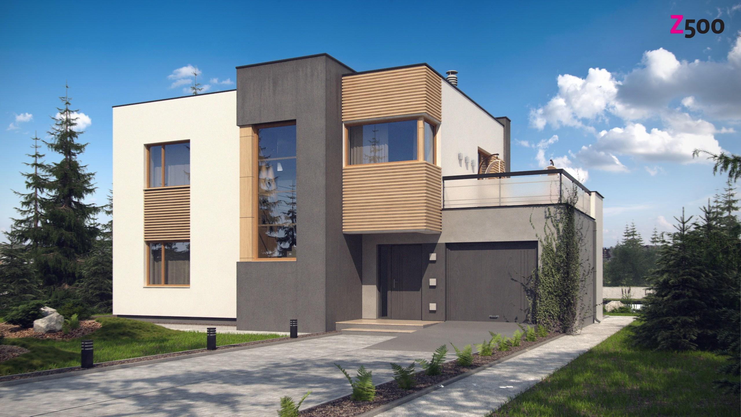 Проект дома Zx59 pk - 1