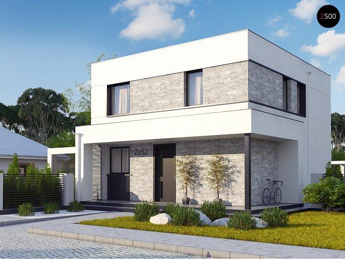 Проект будинку Zx92 pk - 1