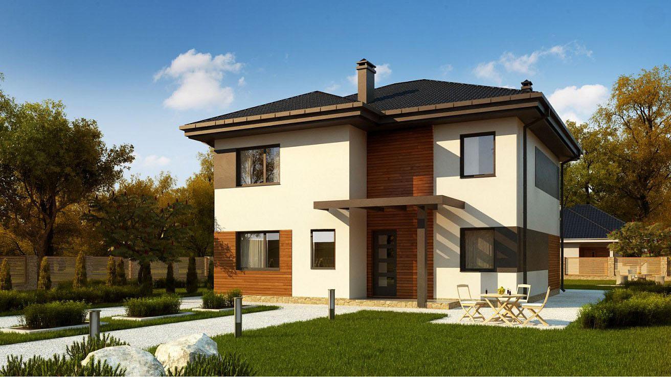 Проект будинку Zz1 v1 - 1