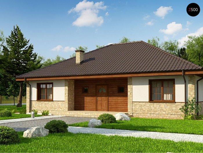 Проект будинку Zz10 v1 - 1