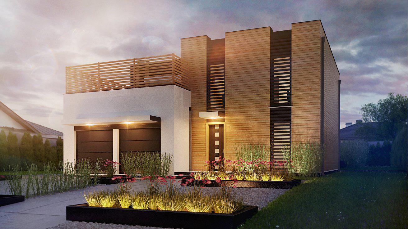 Проект будинку Zx120 v2 - 1