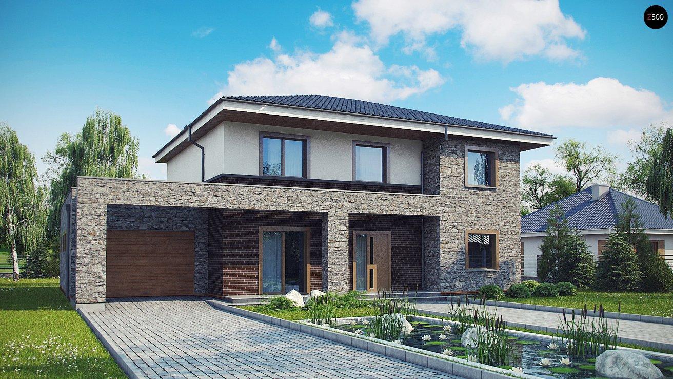 Проект будинку Zx109 P - 1
