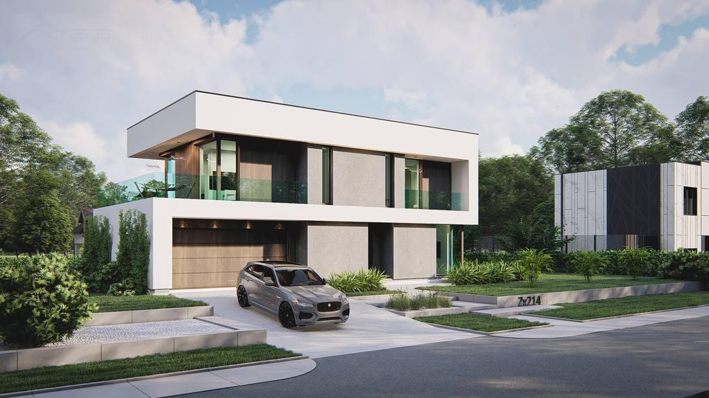 Проект будинку Zx214 - 1