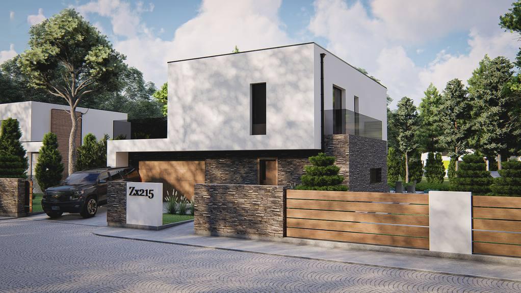 Проект будинку Zx215 - 1