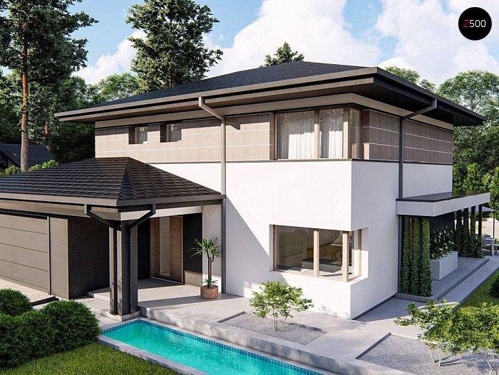 Проект будинку Z426 V1 - 1