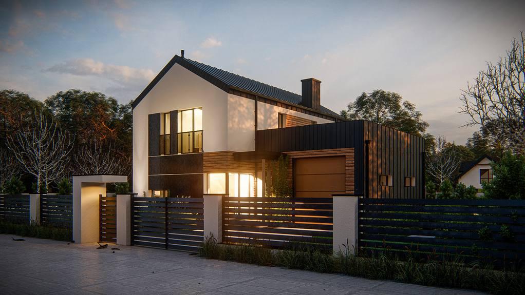 Проект будинку Z414 - 1