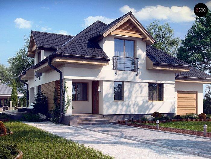 Проект будинку Z284 PK - 1