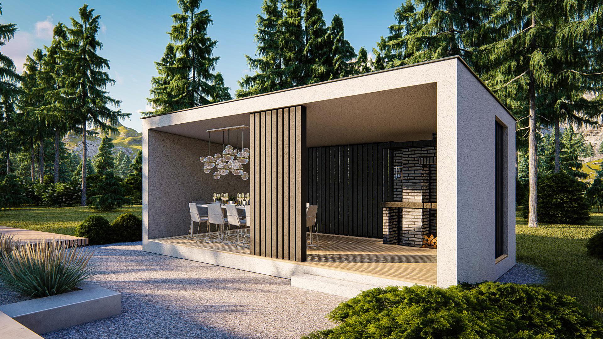 Проект дома Za1 - 1