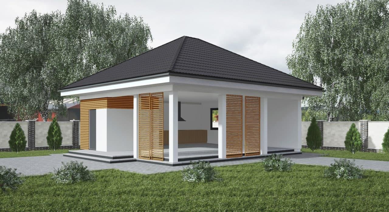 Проект будинку Za4 - 1