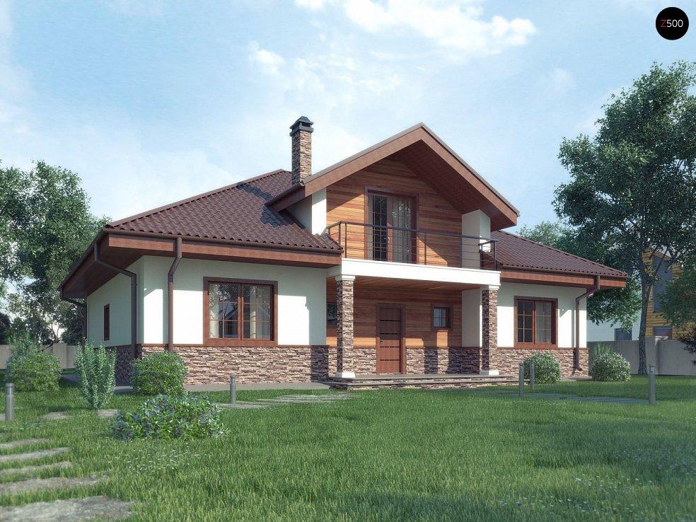 Проект будинку Z10 stu bk v1 - 1