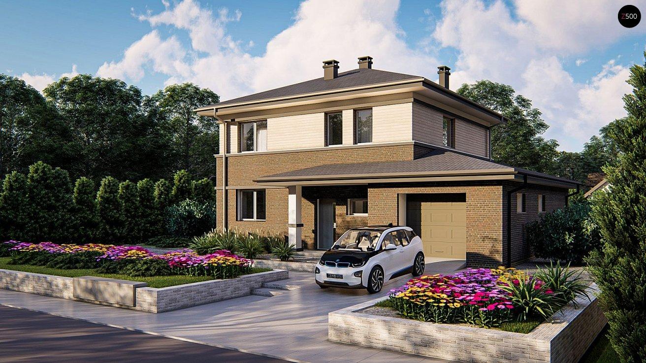 Проект будинку Zz11 k+ - 1