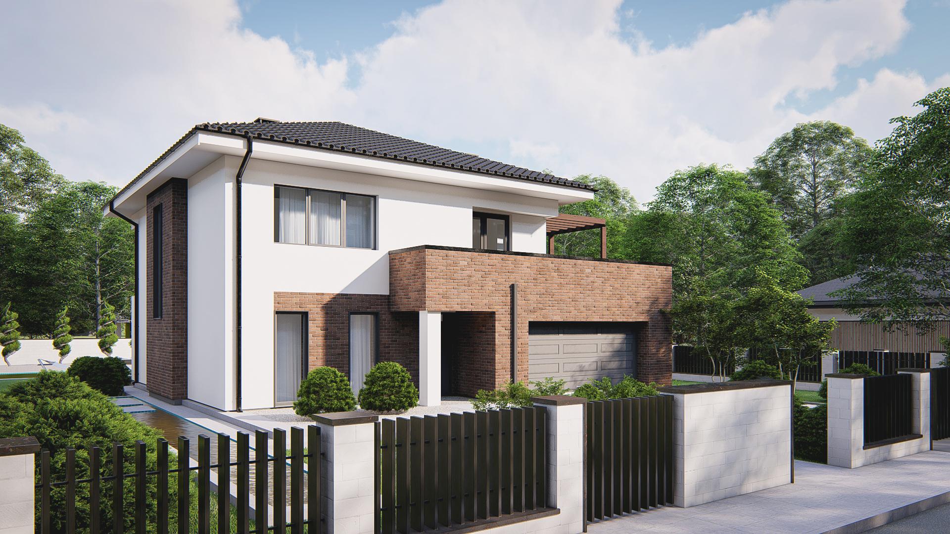 Проект будинку Zz255 - 1