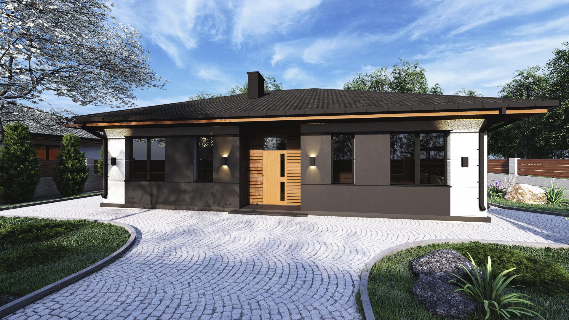 Проект будинку DB12 - 1