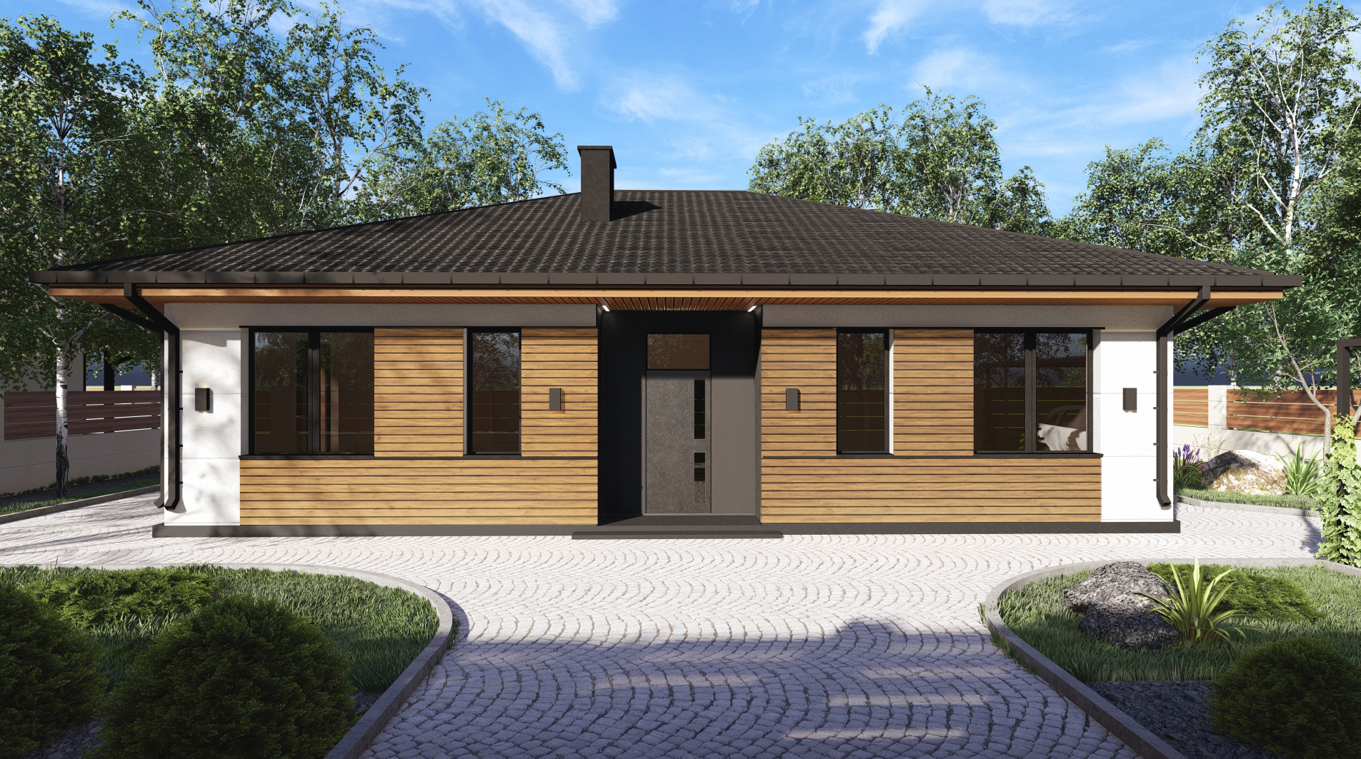 Проект будинку DB12 v1 - 1