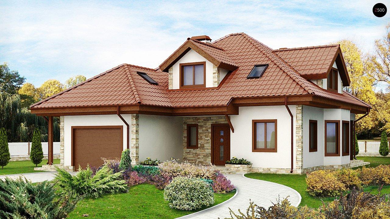 Проект будинку Z58 - 1