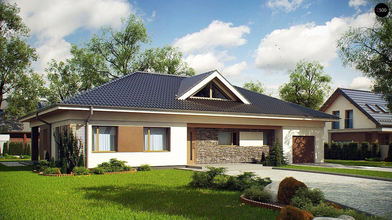 Проект будинку Z153 - 1