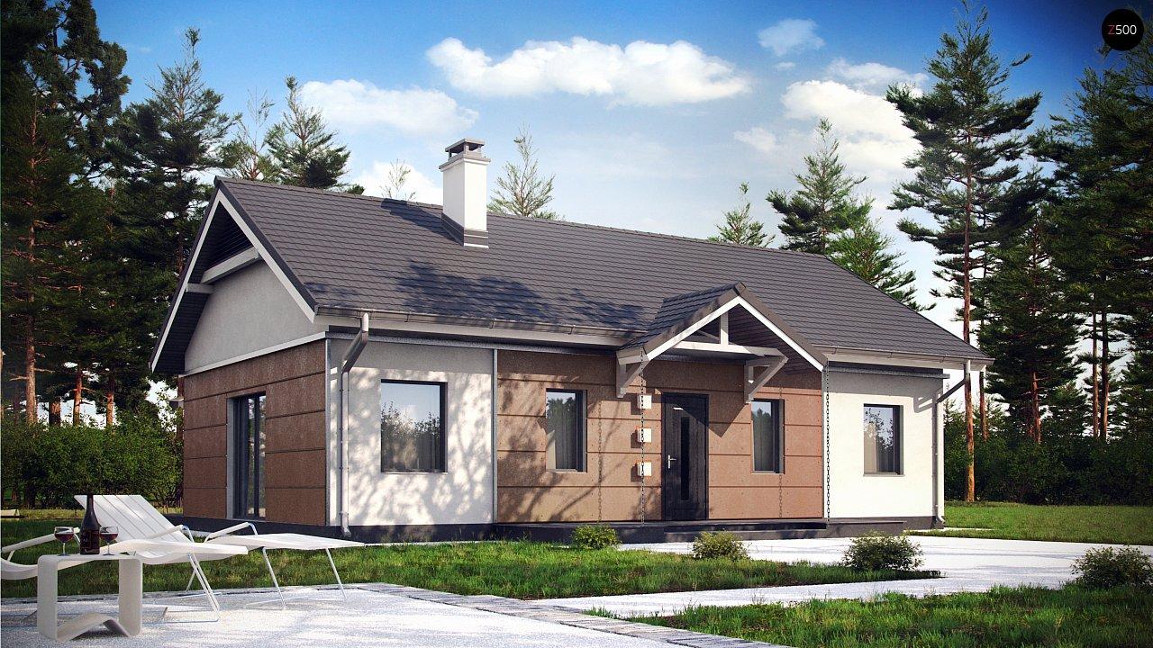 Проект будинку Z241 - 1