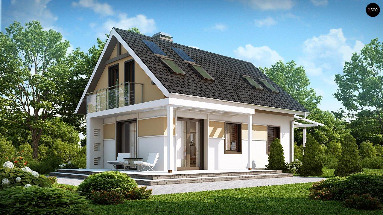 Проект будинку Z216 - 1