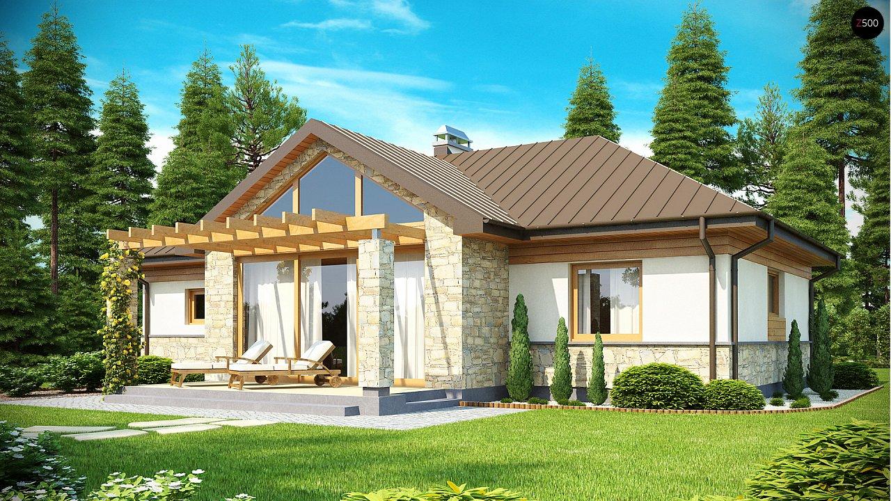 Проект будинку Z151 - 1