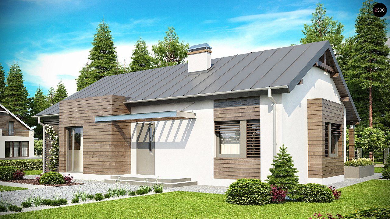 Проект будинку Z93 - 1