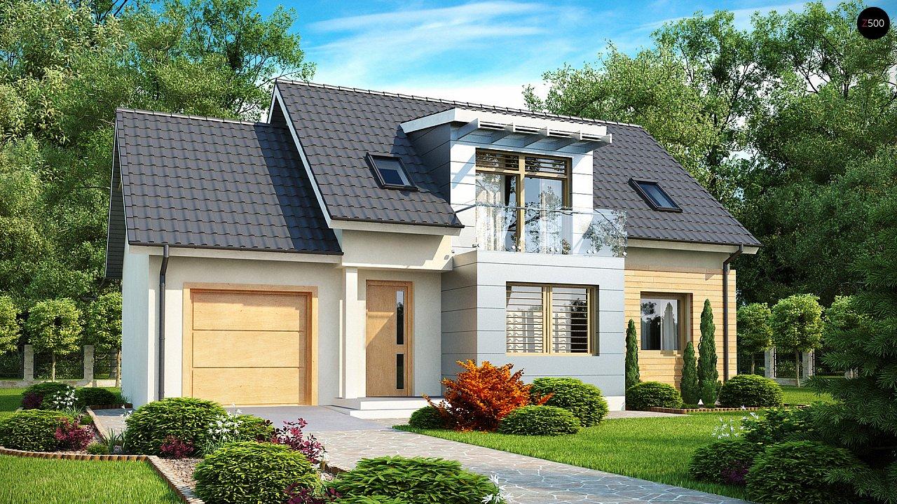 Проект будинку Z126 - 1