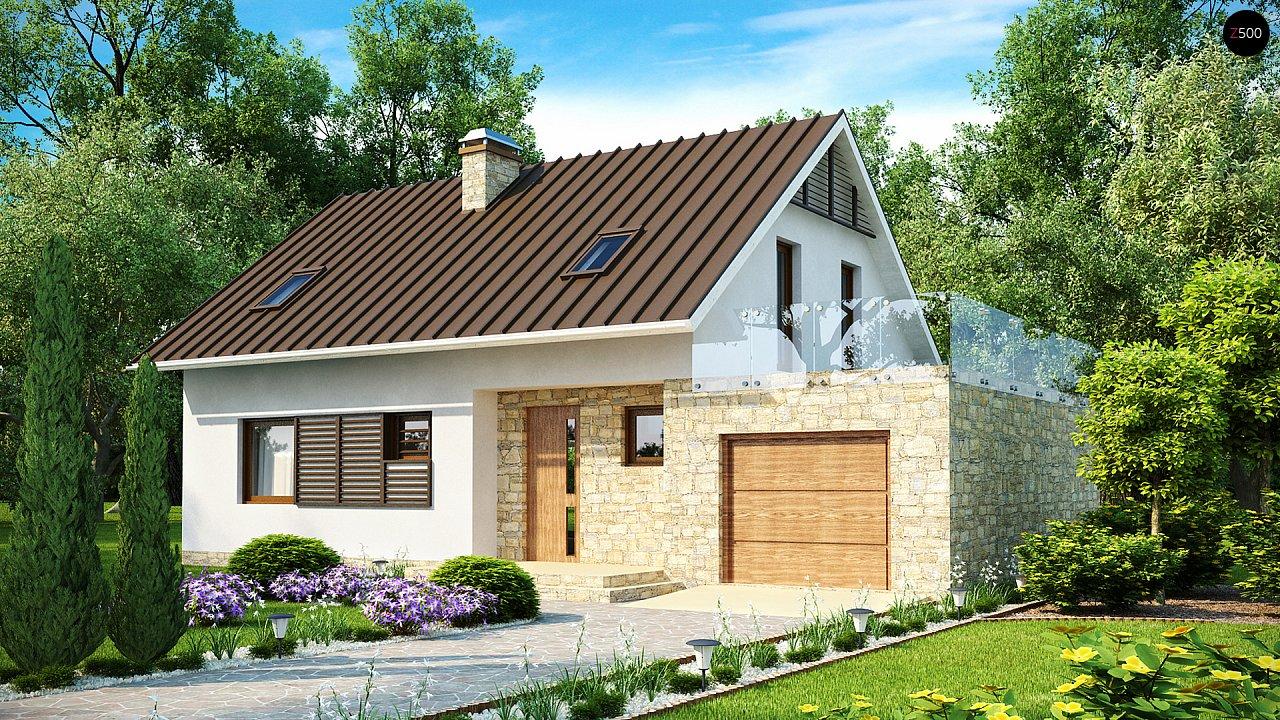 Проект будинку Z127 - 1