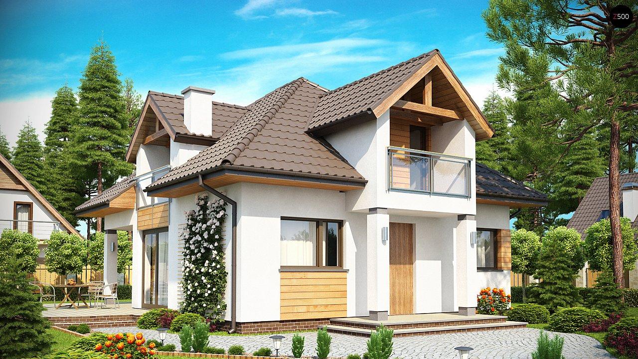 Проект будинку Z145 - 1