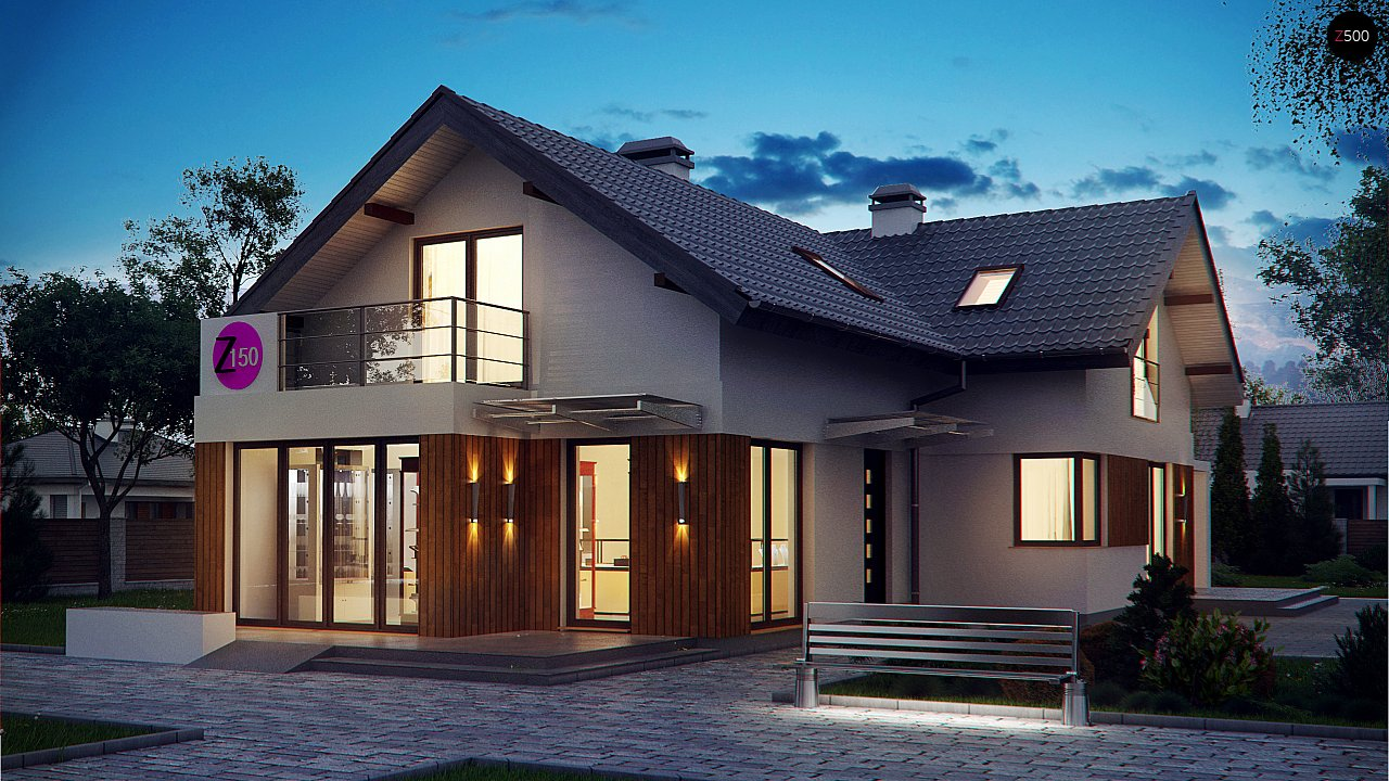 Проект будинку Z150 - 1