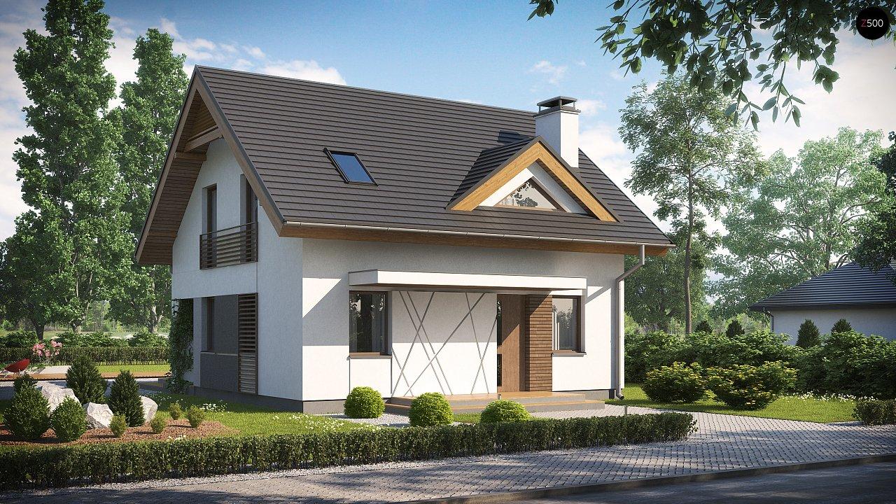 Проект будинку Z163 - 1