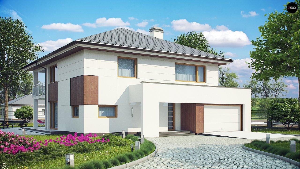 Проект будинку Z156 - 1