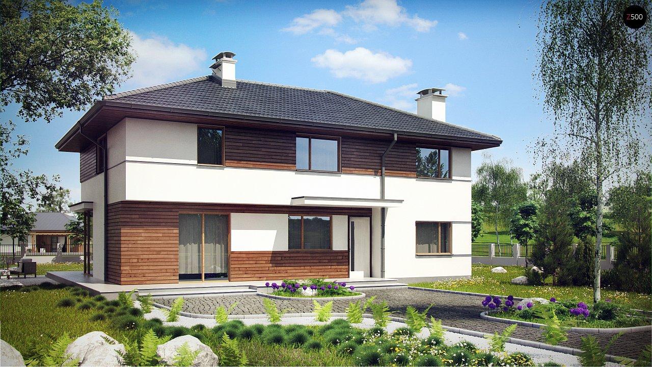 Проект будинку Z159 - 1