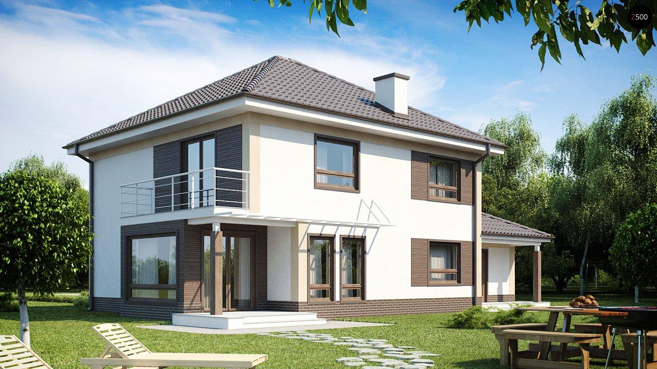 Проект будинку Zx12 - 1