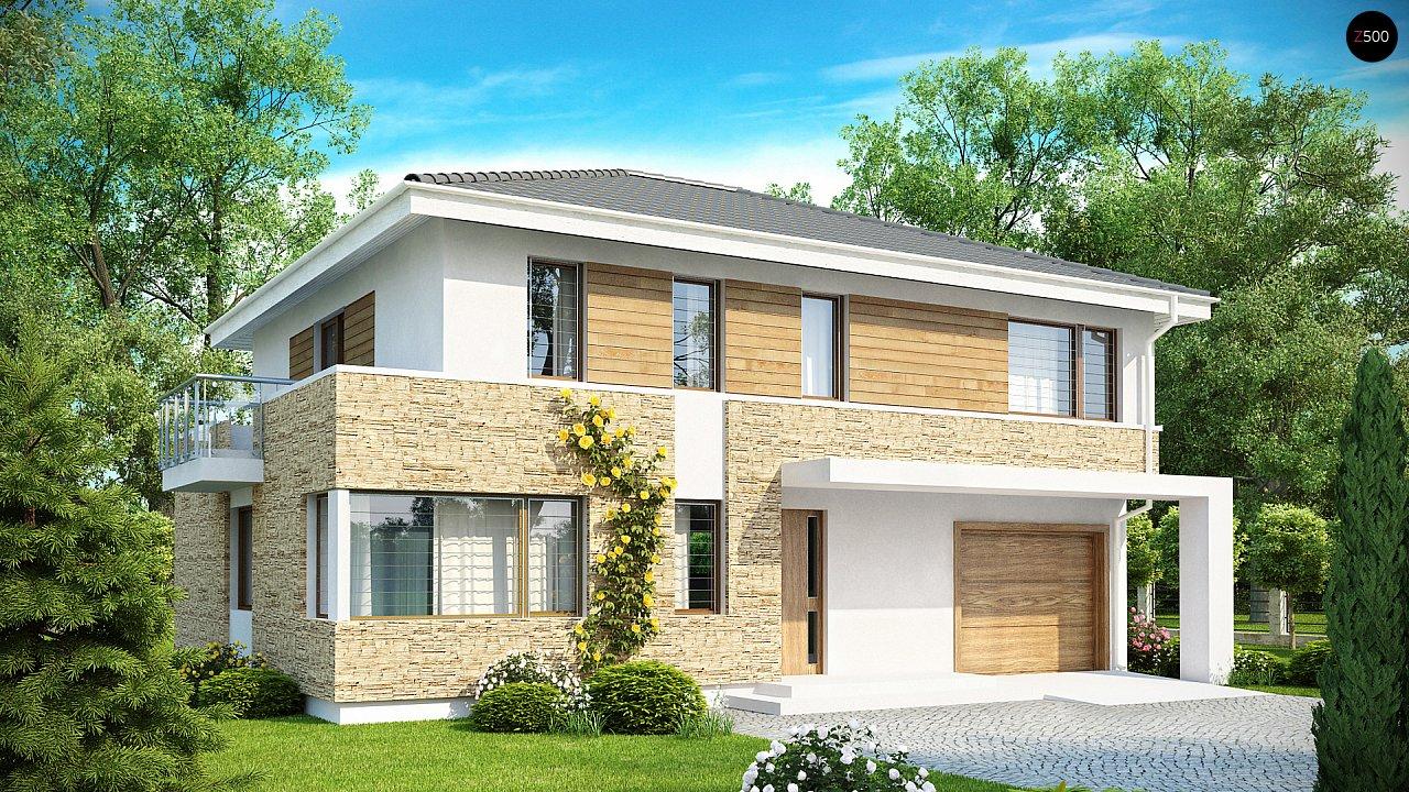 Проект будинку Zx29 - 1