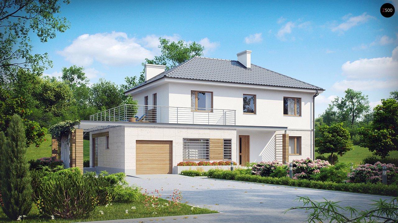 Проект будинку Zx6 - 1