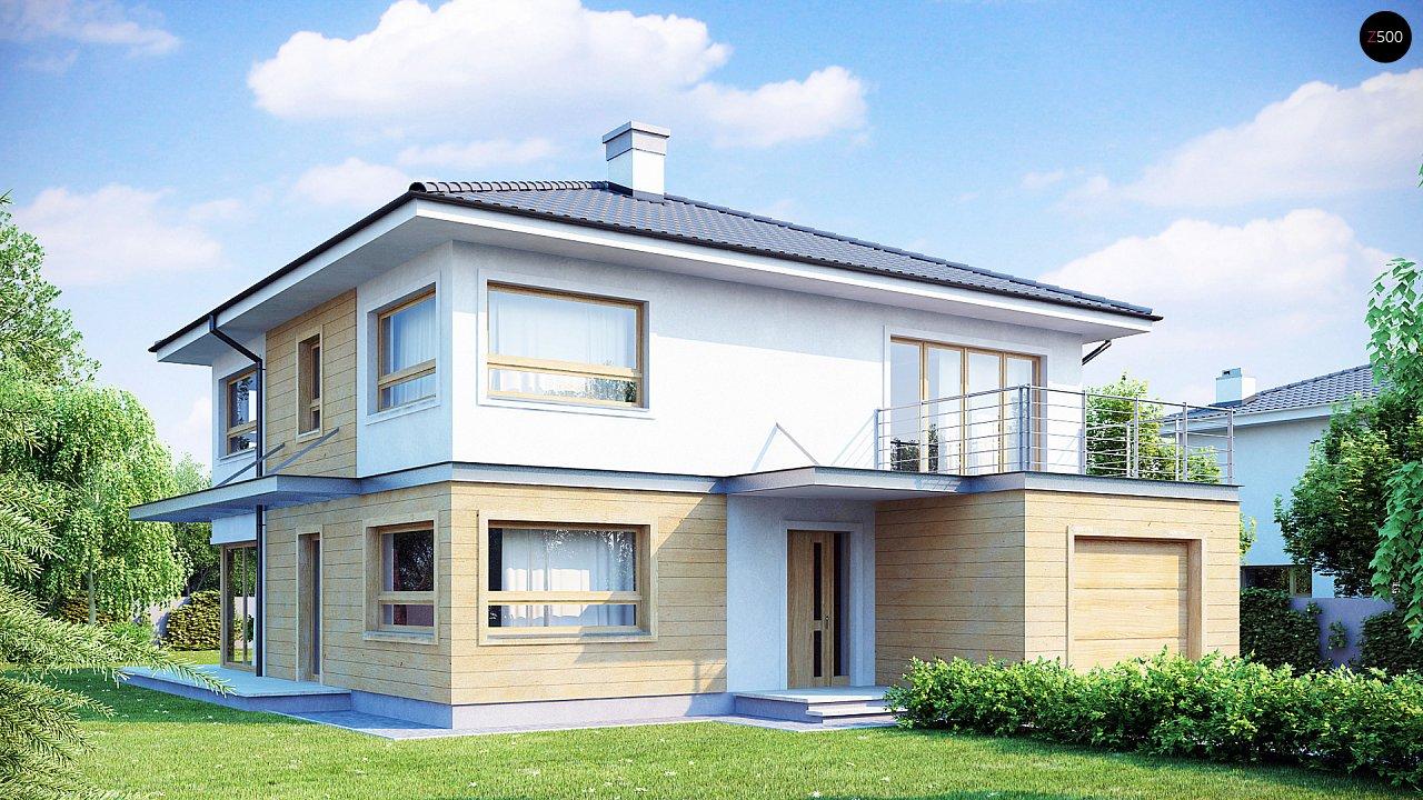 Проект будинку Zx7 - 1
