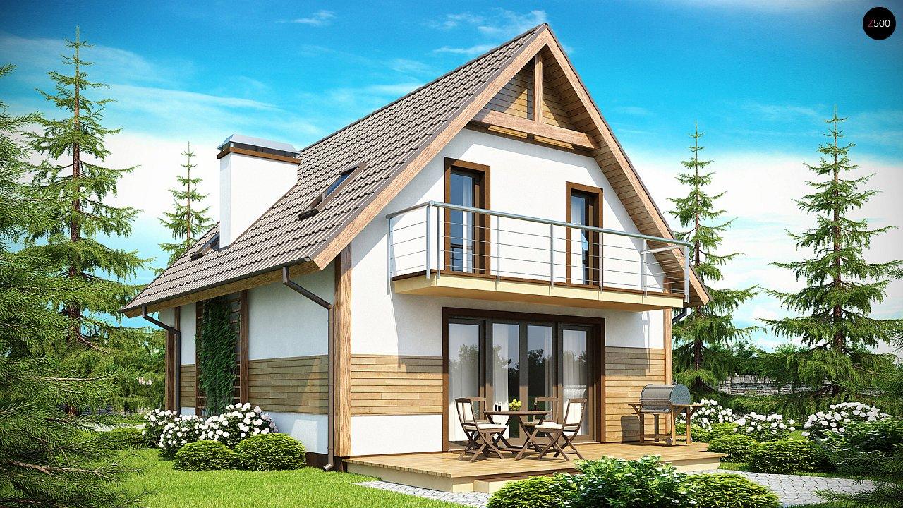 Проект будинку Z45 - 1