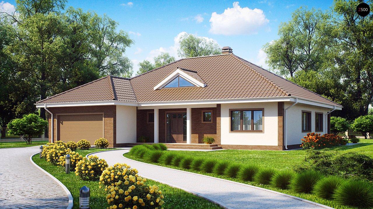 Проект будинку Z26 - 1