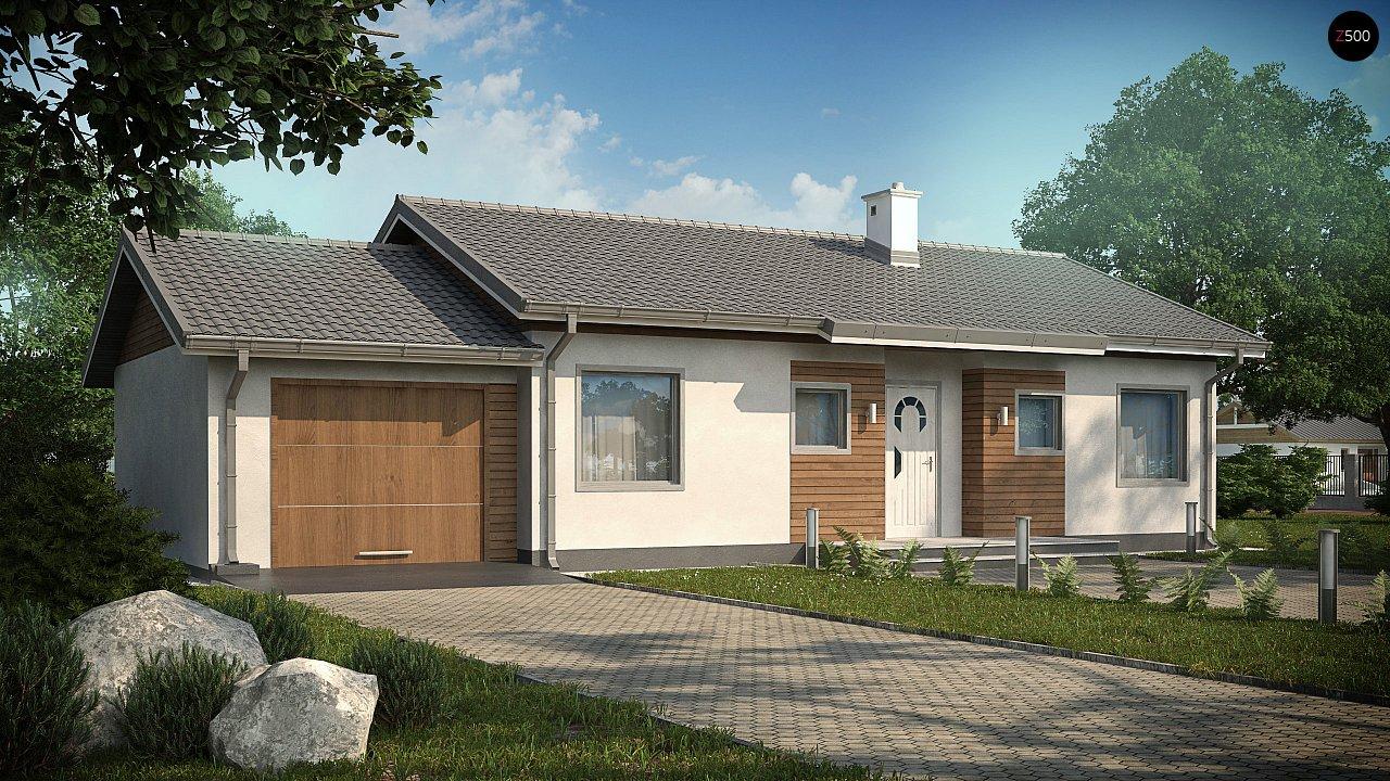 Проект будинку Z7 L GL - 1