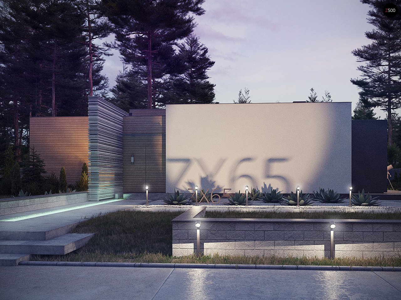 Проект будинку Zx65 - 1