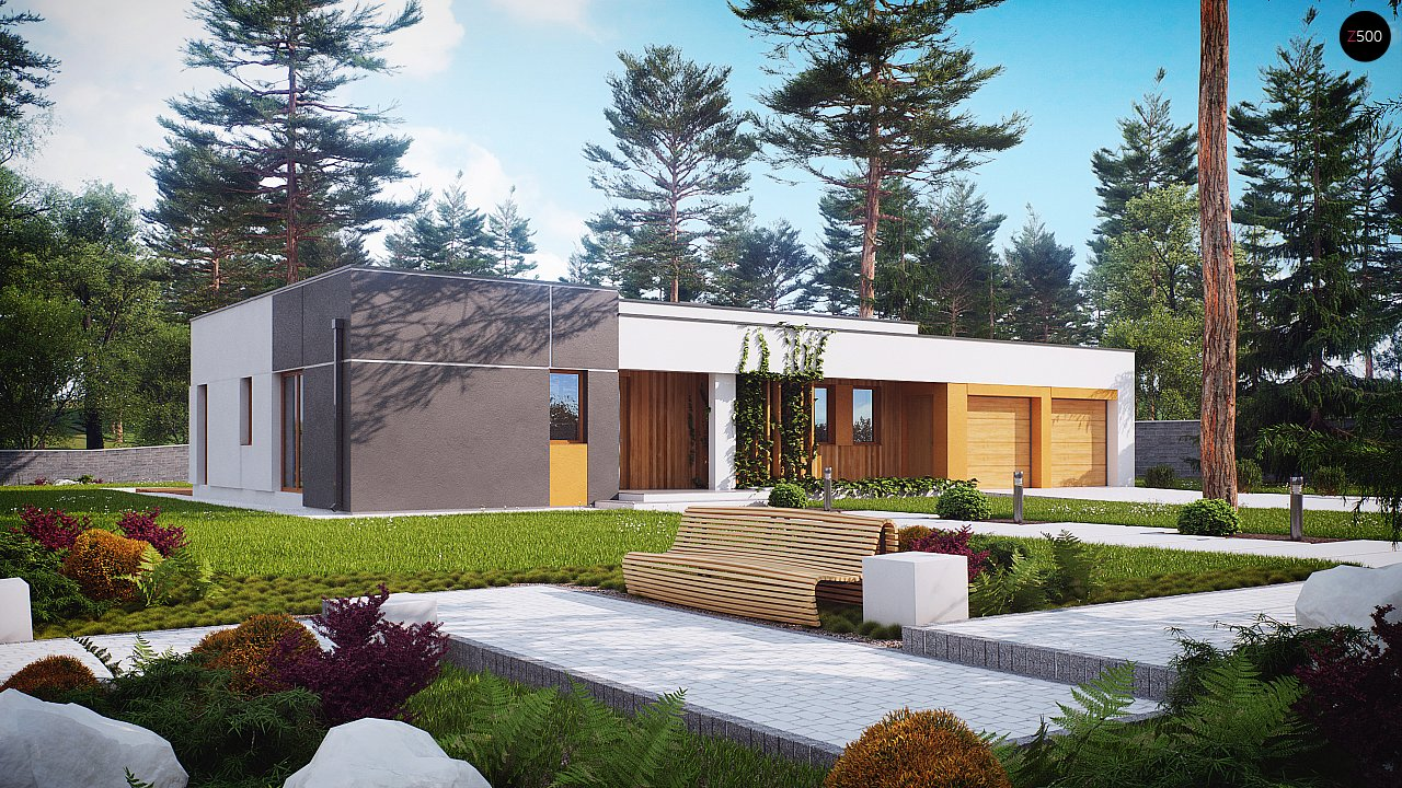 Проект будинку Zx102 - 1