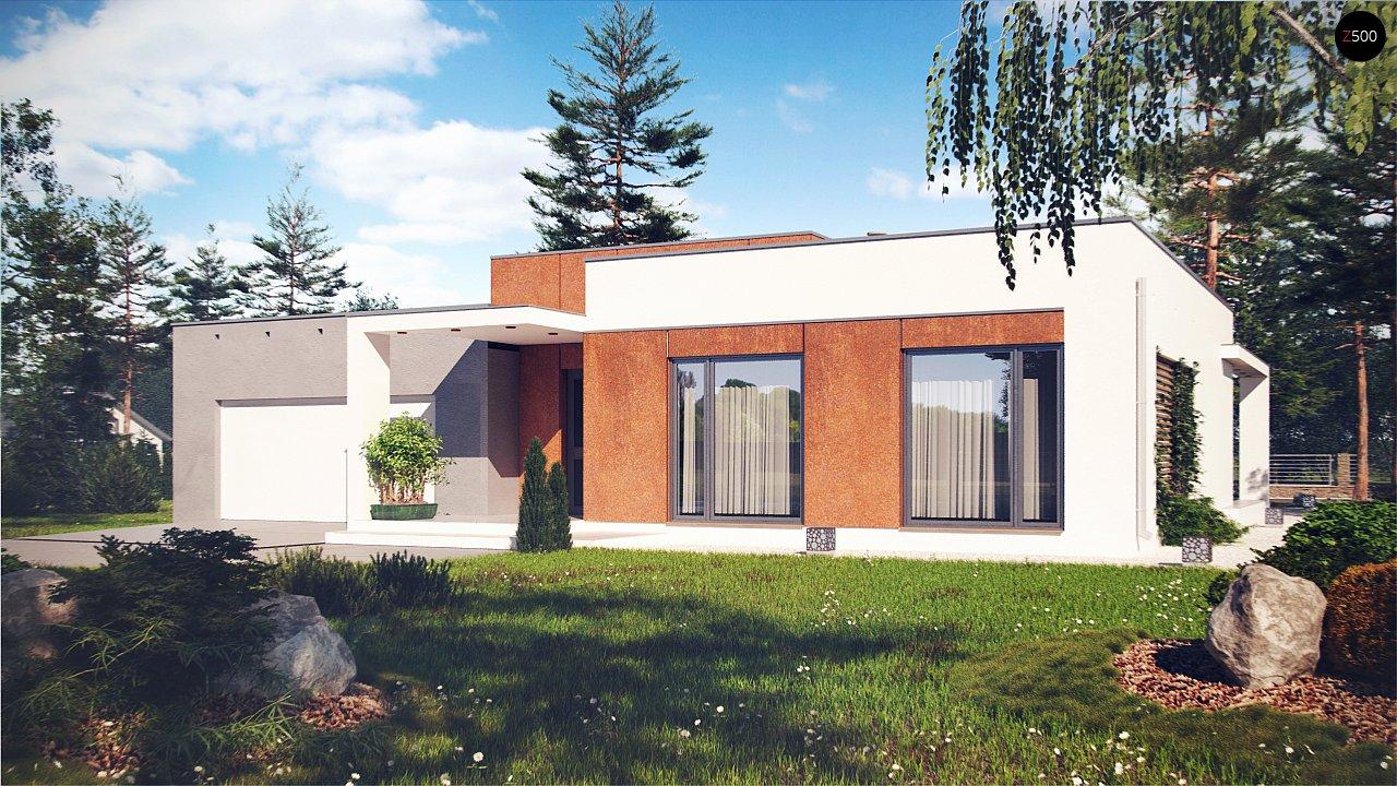 Проект будинку Zx104 - 1