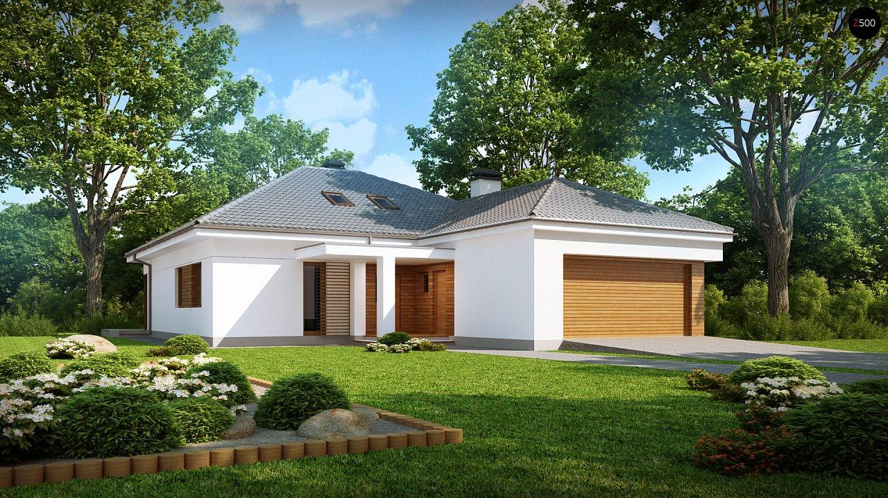 Проект будинку Z206 - 1
