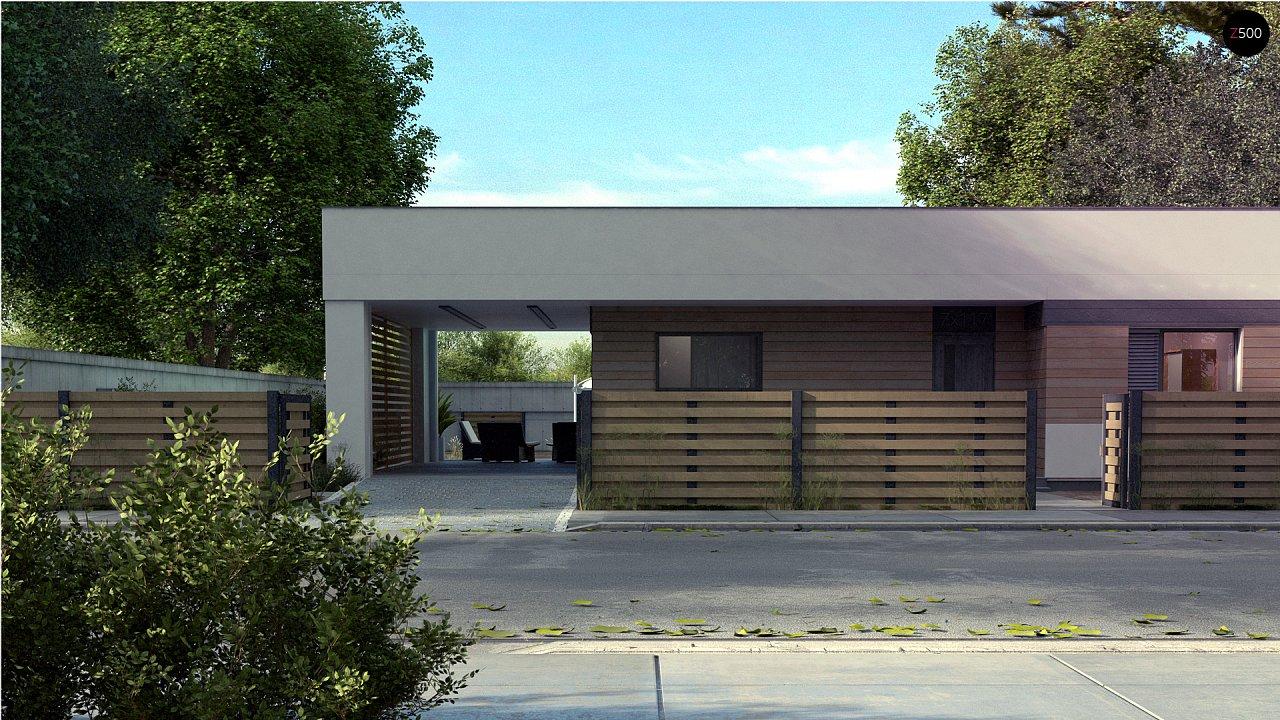 Проект будинку Zx117 - 1