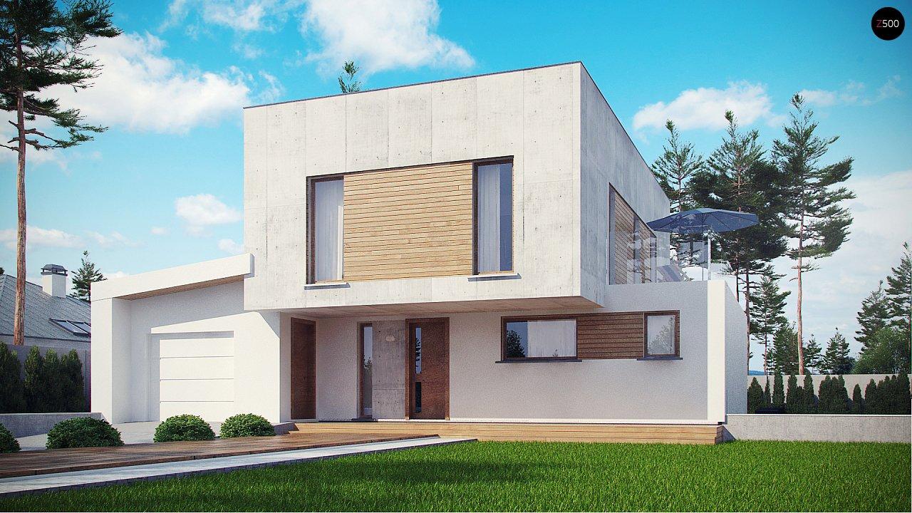 Проект будинку Zx121 - 1