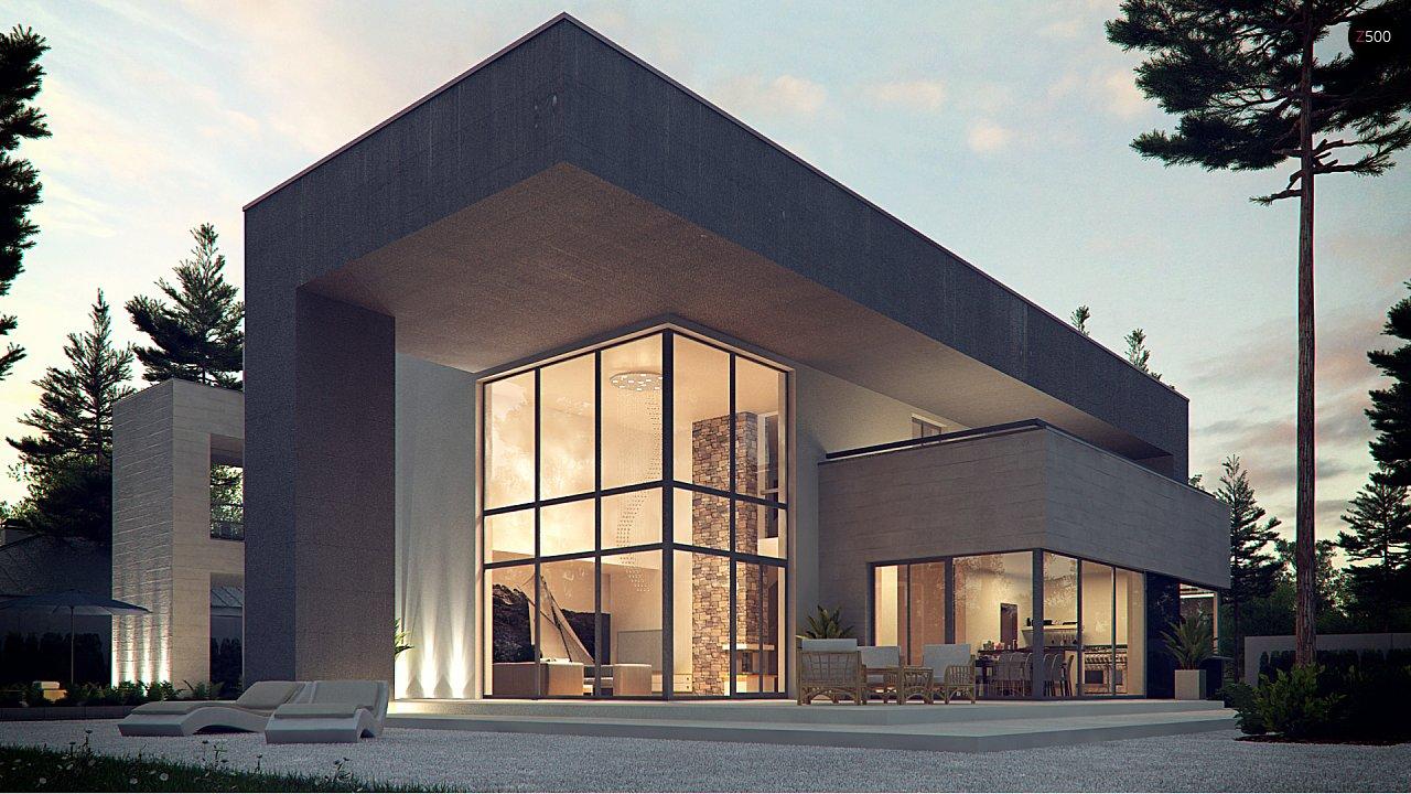 Проект будинку Zx127 - 1