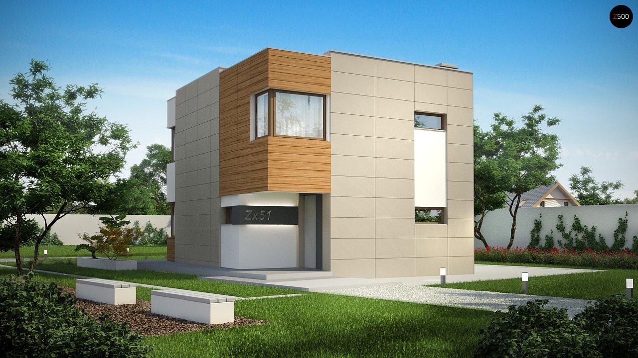 Проект будинку Zx51 - 1